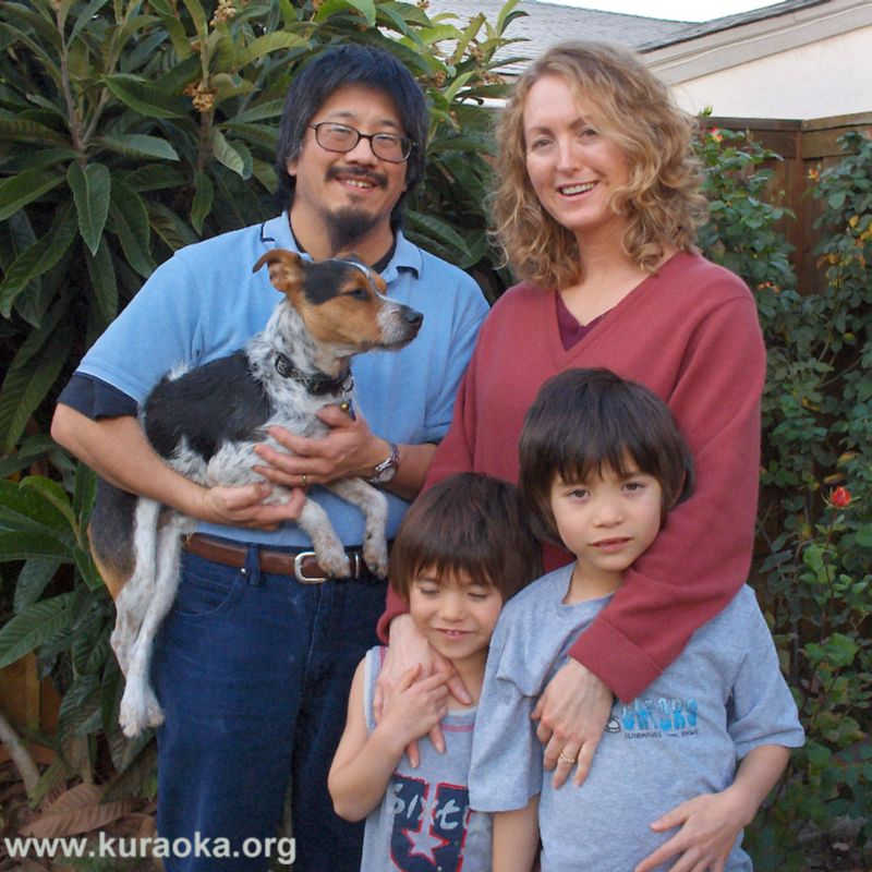 The Kuraoka family, 01 January 2008